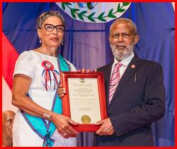 Tribute to Honor Belizean Patriots
