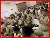 Senior Police Officers meet in Belmopan