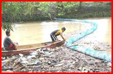 Satellite Club of San Ignacio and Benque Viejo monitors Mopan River