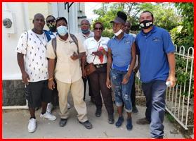 GOB defending Port Workers