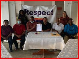 FFB and Punta Gorda Mayor sign MOU