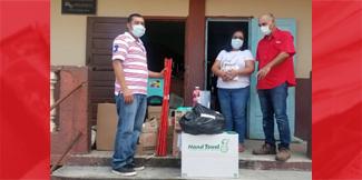 Hon. Omar Figueroa donates to school in Cayo