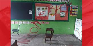 School vandalized in Bella Vista