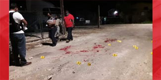 Blood on the streets of Belize City