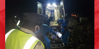 Accident claims man's leg