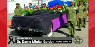 A State Funeral for Belize's first Governor General