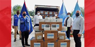 PAHO/WHO Belize donates COVID-19 supplies to increase testing capacity