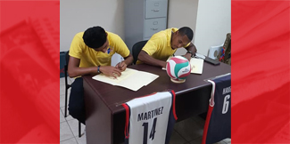 2 more Belizean volleyball players receive scholarships to the US