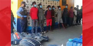 Alleged Belizean pirates busted in Puerto Cortez