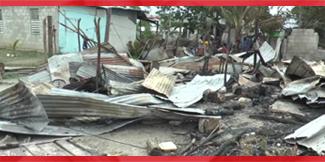 More than a dozen homeless after Corozal fire