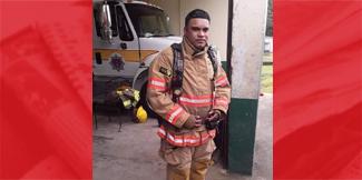 Missing firefighter