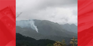 Deep Burning Fire is Cause of Smoke at Sleeping Giant Mountain