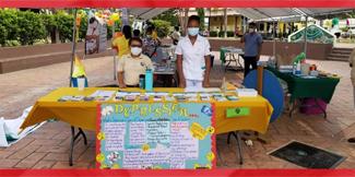 Celebrating Public Service Day in Cayo