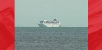 First Cruise Ship Calls on Belize in Over a Year
